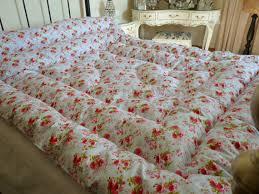 Louisa Kingsize Feather Eiderdown comforter Quilt Vintage Inspired ... & Louisa Kingsize Feather Eiderdown comforter Quilt Vintage Inspired Adamdwight.com