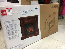 kmart 21 00 electric fireplace 24 99 futon more the krazy lady
