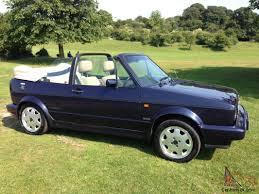 1992 VOLKSWAGEN GOLF GTI RIVAGE BLUE FSH