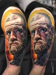тату конор макгрегор в стиле реализм фото татуировок