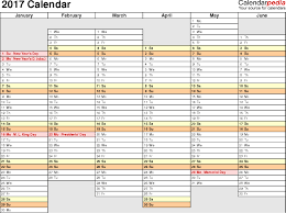2017 Biweekly Payroll Calendar Template Bi Weekly Pay Calendar 2017 ...