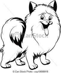 cute dog clipart black and white. Modren And Black And White Illustration Of A Cute Dog For Cute Dog Clipart Black And White