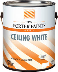 ceiling white paintCeiling White Interior Latex Paint from PPG Porter Paints