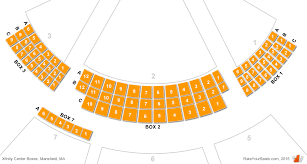 Comcast Theatre Hartford Ct Seating Chart Xfinity Center Mansfield Ma Box Seats Rateyourseats Com