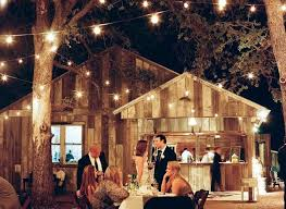 outdoor wedding lighting ideas. photo by the weekend warriors via style me pretty outdoor wedding lighting ideas