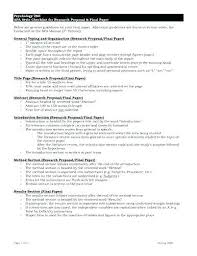 Apa Research Proposal Sample Research Proposal Apa Style Template Voipersracing Co