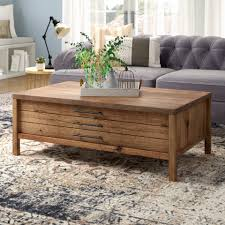 seagrass trunk coffee table new laurel foundry modern farmhouse odile coffee table reviews