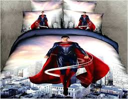 pictures gallery of superman bedding king size