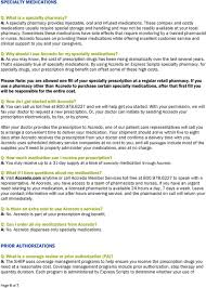 Express Scripts Customer Service General Information With Express Scripts You Have Access