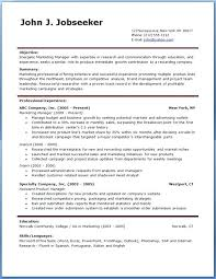 Free Professional Resume Template Wonderful Professional Resume Template Cteamco