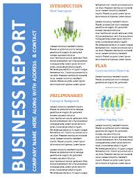 report template for word business report template word 5 professional report templates