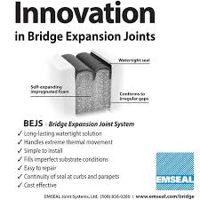 Bejs Bridge Expansion Joint System From Emseal Bridge Division