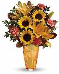 teleflora s golden grace bouquet