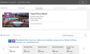 World Of Hyatt Best Redemption Of Chase Points Vacation