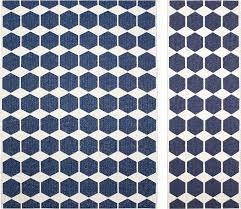 plastic rug anna denim by brita sweden