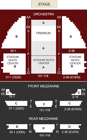 Gershwin Seating Chart Gershwin Theater New York Ny Seating Chart Stage New