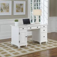 Homestyle Furniture Kitchener Amazoncom Home Styles 5543 18 Bermuda Pedestal Desk Brushed