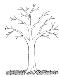 Small Picture Leafless Tree Coloring Page esonme
