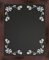 pine chalkboard rustic bulletin boards and chalkboards by ptm decoration elements blackboard vine vector
