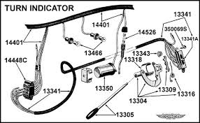fuse wires for the turn signals attach 1955 ford thunderbird 1955 had a 6 volt positive ground system unless it has been converted over to a 12 volt negative ground system either way on the signal flasher is a and