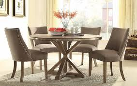 piece beaugrand round modern dining set • usa furniture online