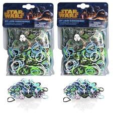 star wars rubber band looms character charms 300 piece diy set com