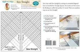 Quilt in a Day Sew Straight Ruler - 735272030003 & Quilt in a Day Sew Straight Ruler Adamdwight.com