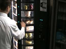Used Cold Food Vending Machines Interesting Vending Machine Shoppertron 48 YouTube