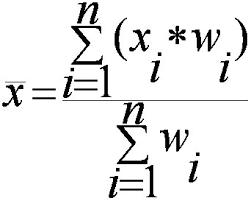 Weighting Factor Statistical Weight And Weight Functions