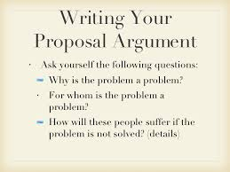 writing proposal arguments  11 writing your proposal argument