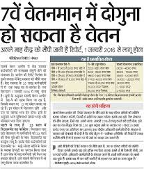 know about 7th cpc pay scale