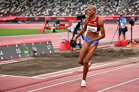 triple jump world record to take gold ...