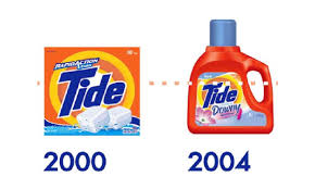 High Efficiency Detergent Brands History Of Tide Laundry Detergent Through The Decades