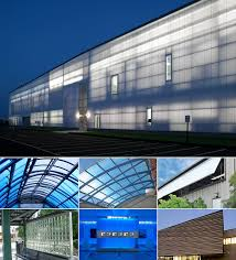 make your buildings look good with uniquely designed polycarbonate s for building exteriors