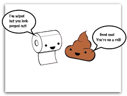 Bathroom Puns Simple toilet puns Google Search Toilet Paper Gifts Pinterest Funny