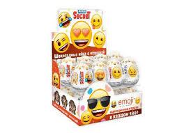 <b>EMOJI шоколадное яйцо</b> с игрушкой
