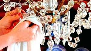 chandeliers cleaning crystal chandelier chandeliers with vinegar how to clean crystals on a image of