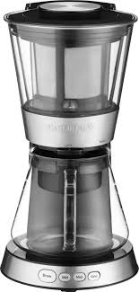 The cuisinart coffee makers are not only affordable but good! Cuisinart 7 Cup Cold Brew Coffee Maker Black Stainless Dcb 10 Best Buy