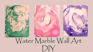diy water marble wall art so easy  on water wall art youtube with diy water marble wall art so easy youtube