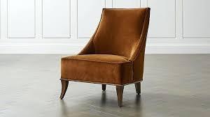 west elm parker slipper chair slipper chair crate and barrel west elm parker slipper chair review