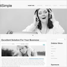 It Simple Template Free Website Templates In Css Html Js
