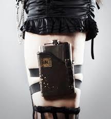 cell phone leg holster