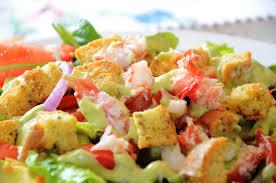 King Crab Salad with Creamy Avocado & ...