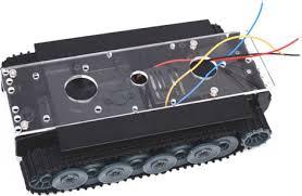 rc tank smart robot tank car chassis