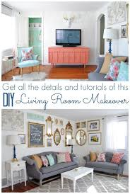 Diy Living Room Makeover Impressive Design Inspiration