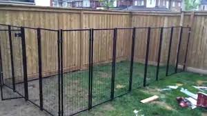 backyard renovation building the dog fence part 2