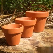 Terracotta Pots 1~50 pcs - Mini, S, M, L & XL
