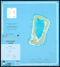 maps of the cook islands  cartes des iles cook