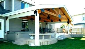 build a roof over deck how
