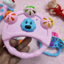 Đồ chơi cho bé trai gái trẻ sơ sinh xúc xắc 5 chi tiết an toàn không độc  hại chính hãng 59,000đ